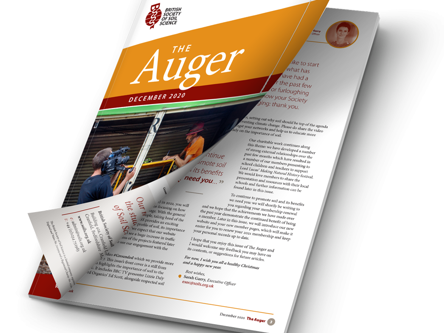 Help us rename your magazine: the Auger!